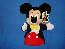 Mickey Mouse in Tux  Hand Puppet Disneyland Mouseketoys W/Tags