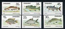 ZIMBABWE, 1989 FISH, 1ST SERIES SG 756-61, FINE MNH SET