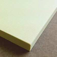 A4 Sheets Conqueror Cream Laid Textured 100gsm Craft Paper Stock Pack