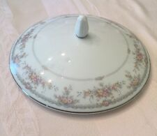 Noritake Veranda China Round Covered Vegetable Bowl Lid 3015