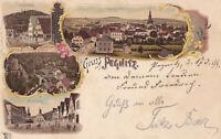 AK Pegnitz, fränkische Schweiz, gel. am 17.7.1899 nach Uffenheim