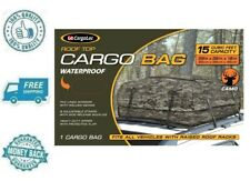 New 15cuft Camo Roof Top Bag Camouflage Cargo Carrier Car Vehicle Rack Storage