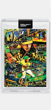 TOPPS PROJECT 2020 CARD 1980 ATHLETICS RICKEY HENDERSON #185 by ANDREW THIELE