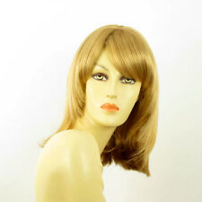 mid length wig for women blond golden ref ODELIA 24b  PERUK