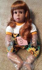 Coll 00006000 ectible Doll Dress Me Up 1989, Pat Secrist Zook Originals, Sunflower No Coa