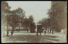 1906 Stoneygate & Victoria Park Road Race Day Leicester Leicestershire Postcard