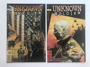 Unknown Soldier #1 2 (of 4) DC Vertigo 1997 by Garth Ennis & Plunkett 9.6-9.8