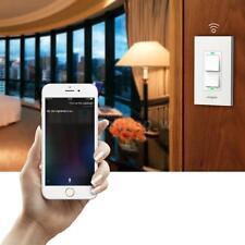 Etl, Fcc, Wi-Fi HomeKit & Siri Voice Control-Koogeek Smart Light Switch G2I2