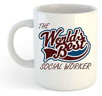 The Worlds Best Social Worker Mug