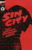 Sin City Just Another Saturday Night 1/2 Mail-Away Exclusive COA Frank Miller NM