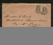 Briefmarken aus Belgien mit Bedarfsbrief