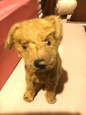 Antique Steiff Sitting Dog