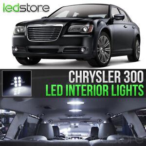 2011-2017 Chrysler 300 White Interior LED Lights Kit Package