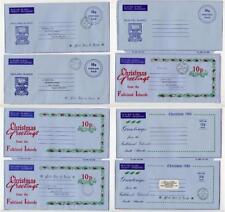 Falkland Islands 1979/80 10p Air Letters, Aerogrammes.w/o Apsley etc Mint, Used.