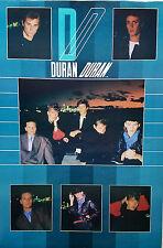 DURAN DURAN 1984 RARE U.K. JUMBO STORE POSTER