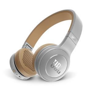 Brand New- SILVER JBL Duet BT Wireless On-Ear Headphones
