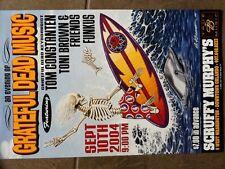 GRATEFUL DEAD  RELIX TOM CONSTANTEN  DEAD SURFER 2004 ORLAND CONCERT POSTER
