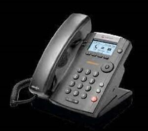 Polycom VVX 201 2314-40450-001 Ring Central VOIP IP POE Display Telephone W/ PWR
