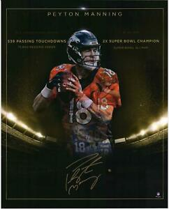 """Peyton Manning Denver Broncos Autographed 16"""" x 20"""" Golden Years Photograph"""