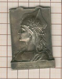 Superb Gallia New Art By Henri Dubois Bronze Silver