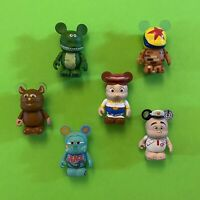 Pixar Vinylmation Lot - Toy Story, Cars, Wall-E, Ratatouille, Lotso Ball Chaser