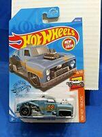Hot Wheels Erikenstein Rod 2020 HW Hot Trucks #4/10 Blue Die-Cast 1:64 Scale