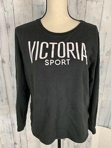 Victorias Secret Victoria Sport Logo Pullover Sweatshirt Top Small