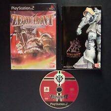 MOBILE SUIT GUNDAM ZEONIC FRONT PlayStation 2 NTSC JAPAN・❀・SHOOTER BANDAI PS2