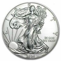 2020 - American Dollar - 1 oz Silver Eagle Dollar - GREAT COIN.....