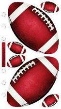FOOTBALL REAL Sport - Sticko Stickopotamus Scrapbooking Craft Sticker