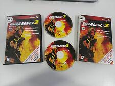 EMERGENCY 3 MISSION LIFE JUEGO PC ESPAÑOL 2 X CD-ROM EDICION ESPECIAL