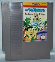 Flintstones Rescue of Dino & Hoppy Cartridge NES Nintendo Game Authentic Tested