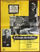 Plakat Le Eisenbahn Des Schülern Lino Ventura Alain Delon Bourvil 60x80cm