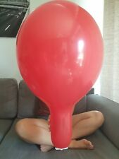 "**NEW** 3x Tuftex 17"" in rot - Luftballons - Looner"