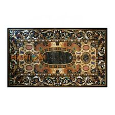5'x3' Dining Table Marble Top Scagliola Office Furniture Inlay Semi Decor B360