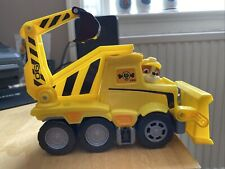 Paw Patrol 6046466 Ultimate Rescue Construction Truck, Yellow Includes Rubble