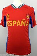 UEFA EURO Poland-Ukraine 2012 Spain Football Soccer Jersey Size Adult Small S