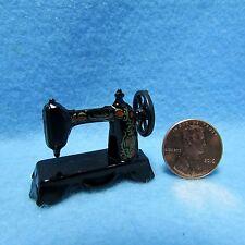 Dollhouse Miniature Antique Sewing Machine ~ D7781