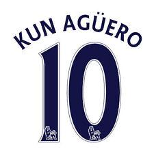 * 13/17-Premiership; PS-Pro Player Blu Taglia; KUN AGUERO 10/= Adulti *