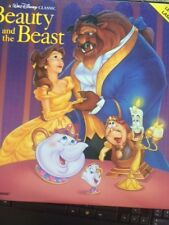 WALT DISNEY'S-BEAUTY AND THE BEAST-LASERDISC 2 DISC SET- EXCELLENT