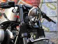 Harley davdson Sportster Abdeckung Log-Flöße Gabel cover Stiele forty eight 48