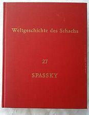 Schach Weltgeschichte des Schachs Lieferung 27 Spassky  einschl. Beiheft