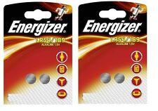 Lot 4 Piles boutons LR54 / 189 ENERGIZER 1,5 Volt Alkaline