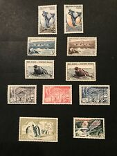 French Southern Antarctic Territory Stamps #2-7 Mint OG NH