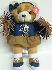 NFL Cheerleader Teddybear, St. Louis Rams, NEW