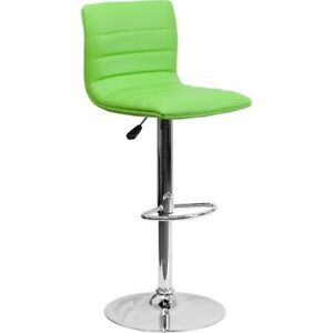 Flash Furniture Green Contemporary Barstool, Green - CH-92023-1-GRN-GG