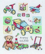 Anchor - Counted Cross Stitch Kit - Baby Boy - Birth Sampler - ACS39
