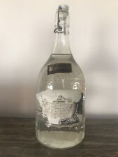 VINTAGE JACK DANIELS SPRING GLASS WATER BOTTLE UNOPENED