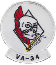 Attack Squadron 34 VA-34 United States Navy USN Embroidered Patch
