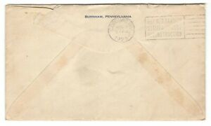 1923 Canada - Incoming Cobourg, Ont. Buy War Savings Stamps Slogan Cancel Cover